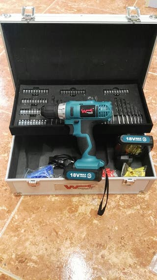 atornillador electrico 18w