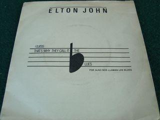 """ELTON JOHN.- SINGLE VINILO 7""""."""
