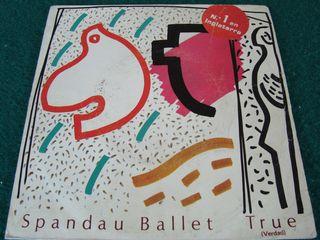 """SPANDAU BALLET.-TRUE- SINGLE VINILO 7""""."""