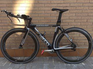 Bici Triatlon prácticamente nueva