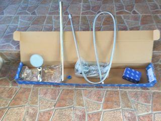 Conjunto soporte y brazo ducha