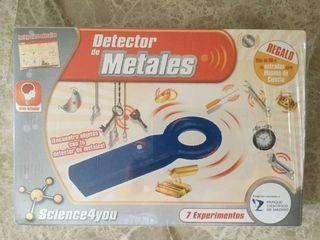 Detector metales casero