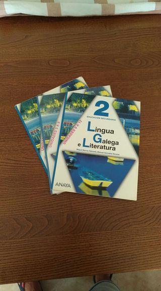 Libro de Lingua Galega e Literatura 2 secundaria