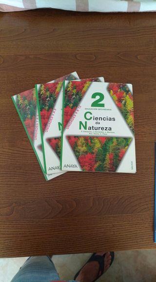 Libro de Ciencias da Natureza 2 eso