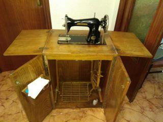 Máquina de coser hexagon