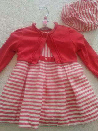 vestido 6-9 meses