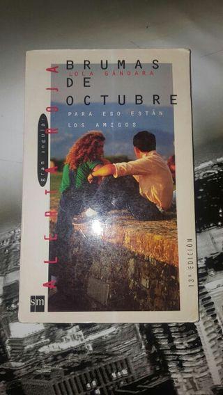 libro brumas de octubre
