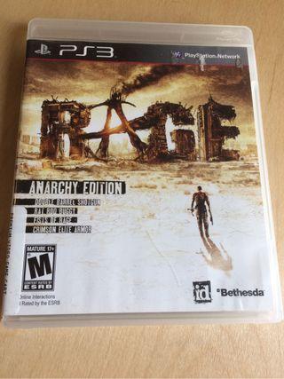 Ps3 videojuego Rage