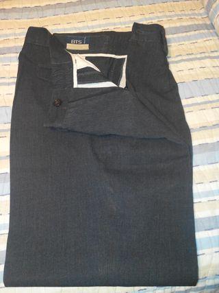 pantalón colegial gris
