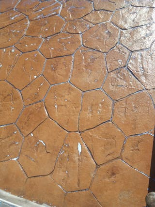 Pavimento hormig n impreso y pulido en la batlloria en wallapop - Pavimento hormigon pulido ...
