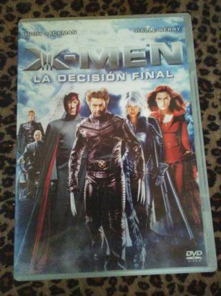 Pelicula Dvd X-Men La decisión final