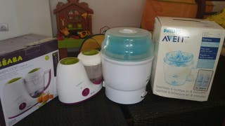 Esterilizador biberones y babycook