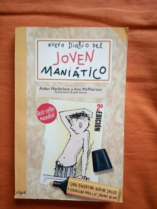Libro Nuevo Diario del joven maniático