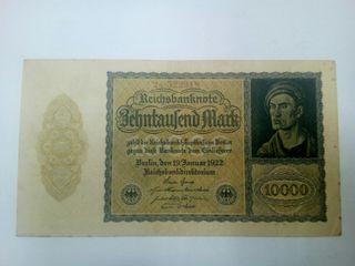 billete 10000 marcos