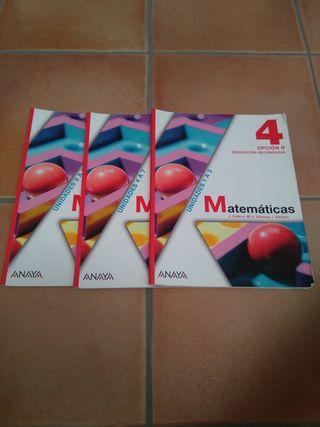Matematicas 4 ANAYA 2 Mano
