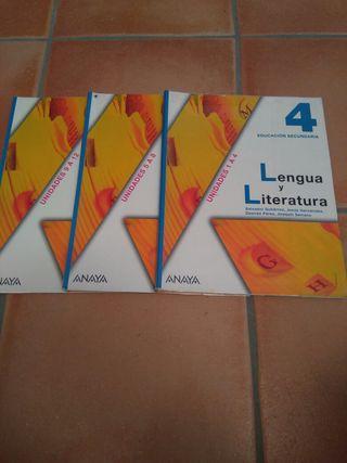 Lengua y Literatura 4 ESO 2 Mano