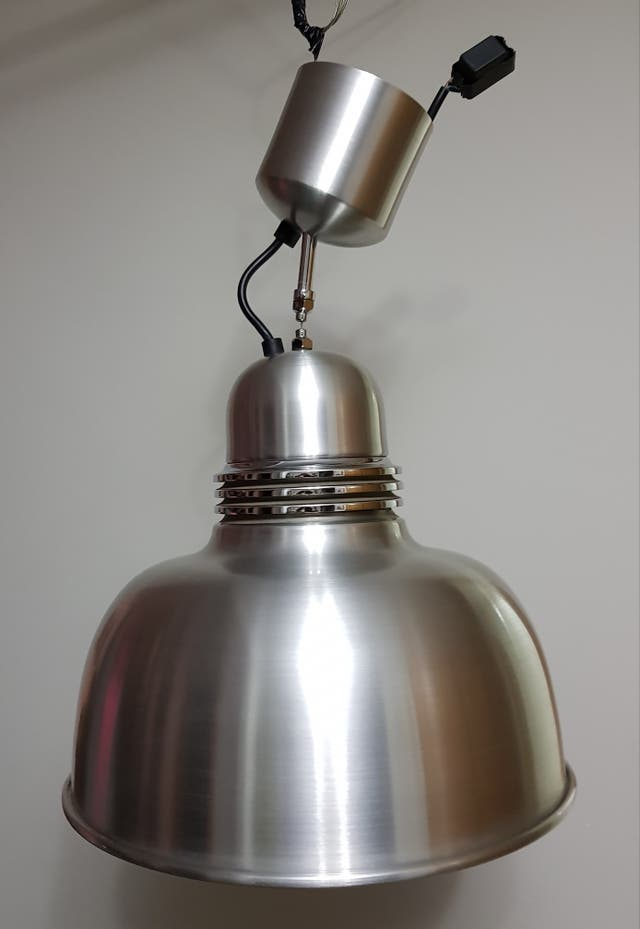 Lámpara Minimalista Aluminio