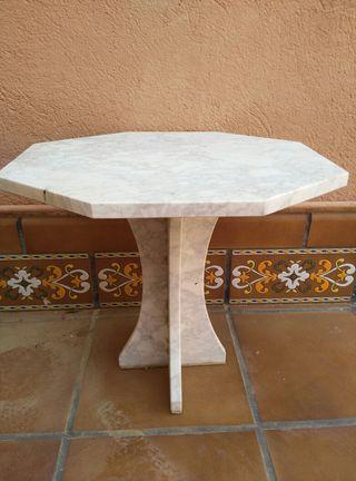 Mesa exterior mármol pulido