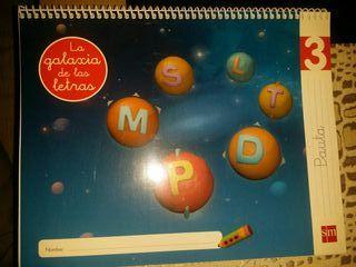 libros infantil GALAXIA DE LAS LETRAS