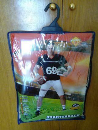 Disfraz quarterback