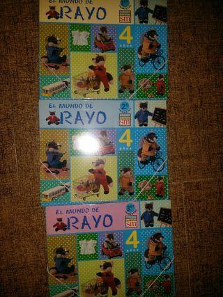 Libros infantil EL MUNDO DE RAYO 4 años