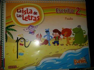 libro infantil LA ISLA DE LAS LETRAS