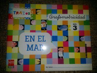 libro educacion infantil TRAZOS GRAFOMOTRICIDAD