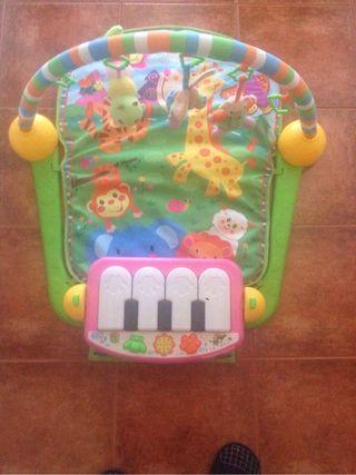 Gimnasio piano nuevo
