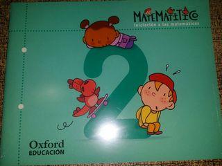 libro infantil MATEMATÍTICO