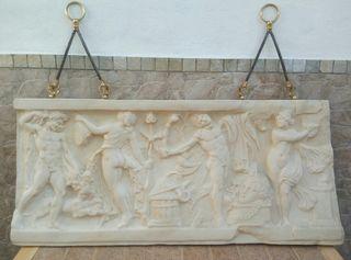 relieve romano escultura estatua