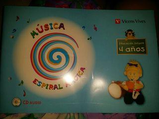 libro infantil MÚSICA