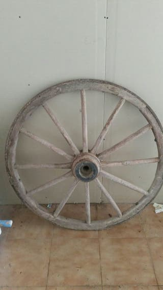 rueda carro