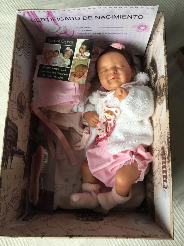 Bebe reborn americus limitado
