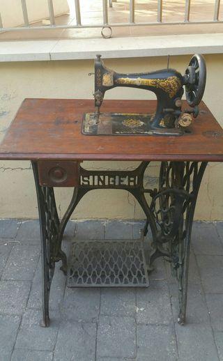 Máquina de coser Singer de 1904