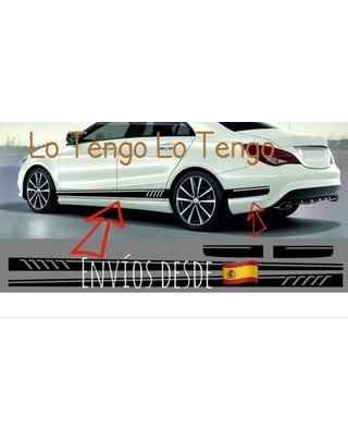 Vinilos Puerta AMG Mercedes Benz