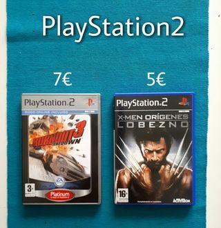 Videojuego PlayStation2