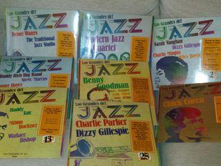 discos de vinilo Los grandes del Jazz