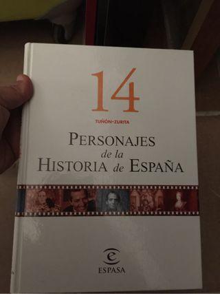 Coleccion personajes historia biografía