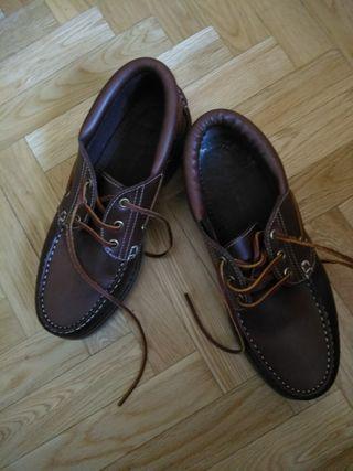zapatos náuticos de hombre talla 40 color marrón