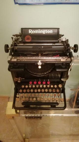 maquina de escribir, remington, antigüedades