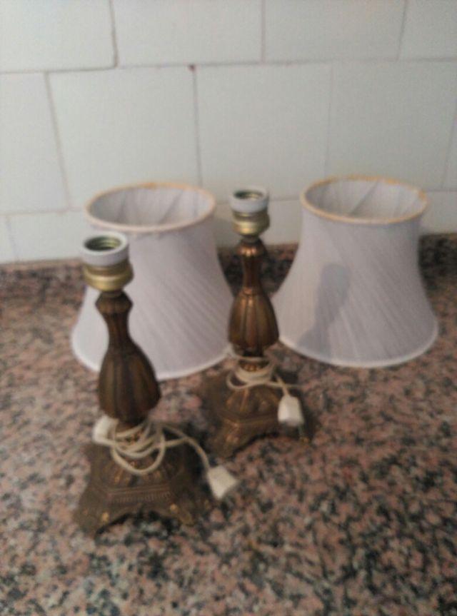 2 pies de lampara
