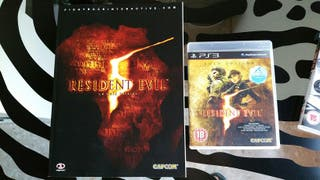 Resident Evil 5 Gold Edition PS3 + guia oficial