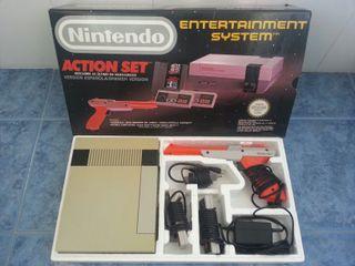 Nintendo Action Set. NES