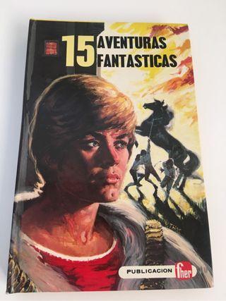 """Libro Juvenil """"15 Aventuras Fantásticas"""""""