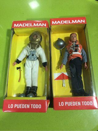 Madelman varios modelos,playmobil y airgamboys