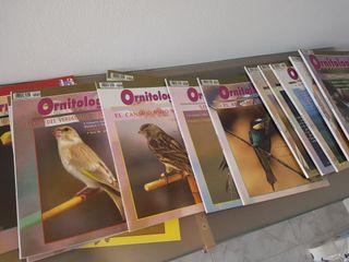 revistas ornitologia(pajaros)