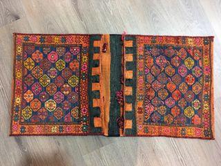 Alforja antigua persa totalmente bordado