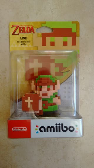 Amiibo Link 8-bits The Legend of Zelda