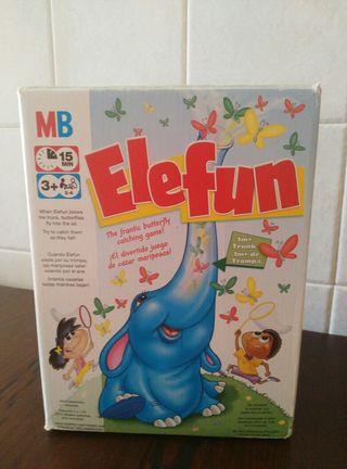 juego elefun de MB