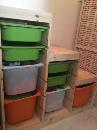 Mueble niños Trofast Ikea